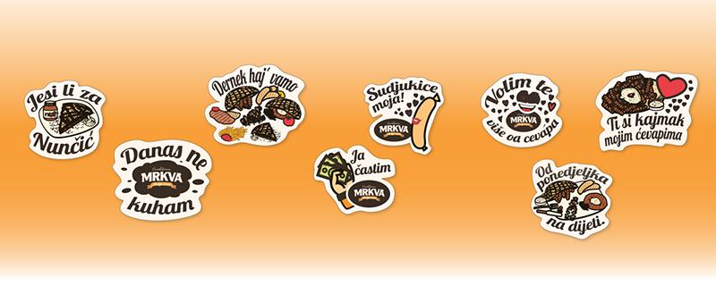 Mrkva Viber stickers