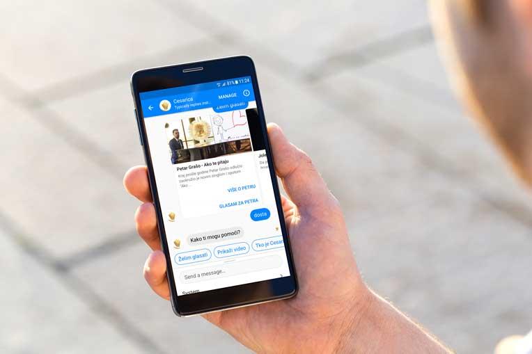 Voting Chatbot Facebook Messenger